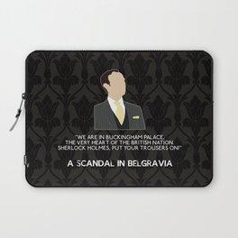 A Scandal in Belgravia - Mycroft Holmes Laptop Sleeve