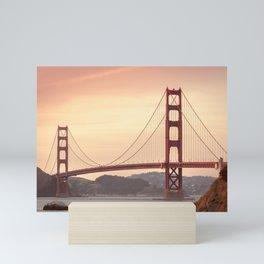 Golden Gate Bridge San Francisco Mini Art Print