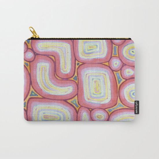Fitting Pieces Pattern Carry-All Pouch