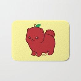 Apple Red Pom de Terrier Bath Mat