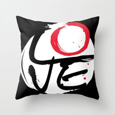 LOVE CYCLE Throw Pillow