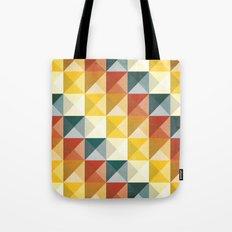B/W/Y/O/R Tote Bag
