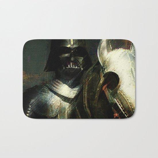 Knight Vader  Bath Mat