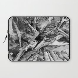Black and White Driftwood Laptop Sleeve