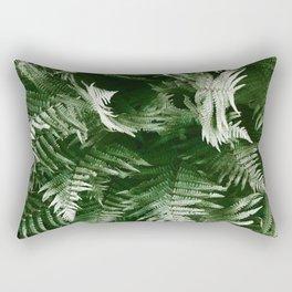 Green Inferno Rectangular Pillow