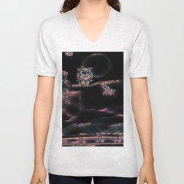 Owl Night Unisex V-Neck