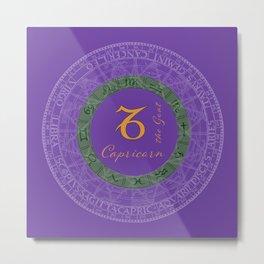 Capricorn Dec 22 To Jan 19 Metal Print