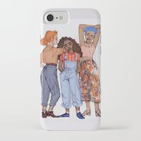 hermione iPhone & iPod Cases featuring Ginny, Hermione and Tonks by may12324