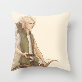 Mark Blackthorn Throw Pillow