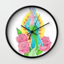 Mermaid Saint Wall Clock