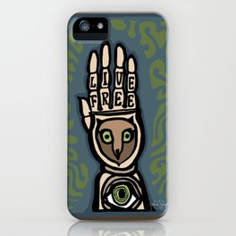 In Celebration of Freehand iPhone Case