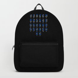 Braille Alphabet Blindness Blind People Backpack