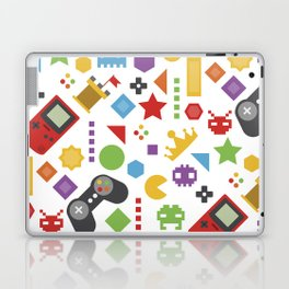 video game pattern Laptop & iPad Skin