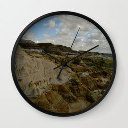 Rugged Landscape Wall Clock