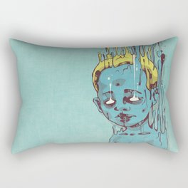 The Blue Boy with Golden Hair Rectangular Pillow