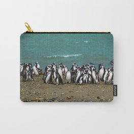 Otway Sound Penguin Colony - Chile Carry-All Pouch