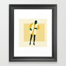Fashion Dance 8 Framed Art Print