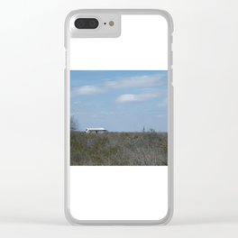 A hermit's life Clear iPhone Case