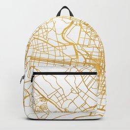 PHILADELPHIA PENNSYLVANIA CITY STREET MAP ART Backpack