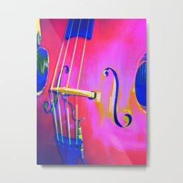 Hot Bass Miller Metal Print