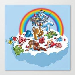 My Little Pony Keg Canvas Print