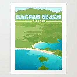 Nacpan Beach Art Print