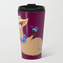 Bahama Llama Travel Mug