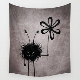 Evil Flower Bug Wall Tapestry