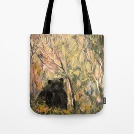 My Curious & Gentle Bear Tote Bag