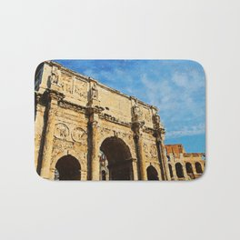 Rome - The Arch of Constantine Bath Mat