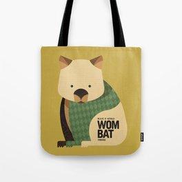 Hello Wombat Tote Bag