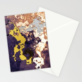 Mixture of minerals Stationery Cards