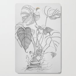 Monstera. Living Cutting Board