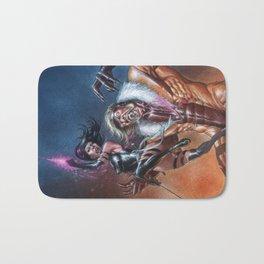 Psylocke vs Sabretooth Bath Mat