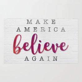 Make America Believe Again Rug