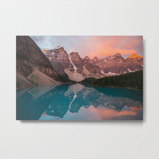 Moraine Lake, Canada Metal Print