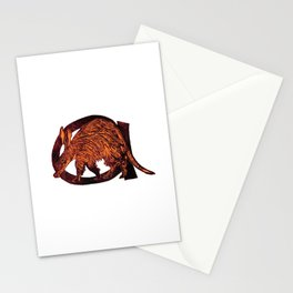 A is for Aardvark Stationery Cards