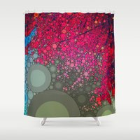 be happy Shower Curtains featuring Happy by Olivia Joy StClaire