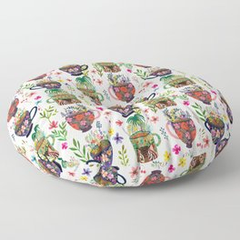 Paradise Tea Floor Pillow