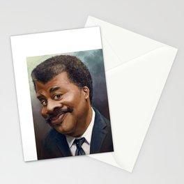 Neil Degrasse Tyson Caricature Stationery Cards