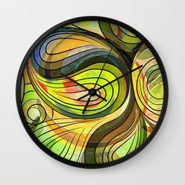 So Nothing Is Created Perfect - Autumn Harvest Wall Clock