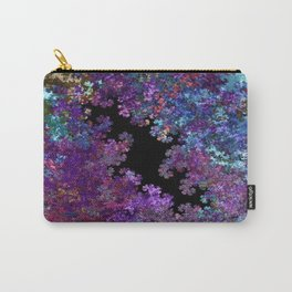 Flora-Purple Carry-All Pouch