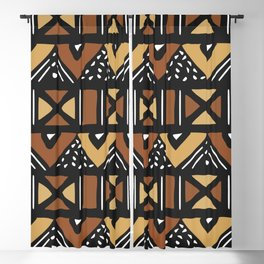 Mud cloth Mali Blackout Curtain