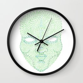 The Green Man Wall Clock
