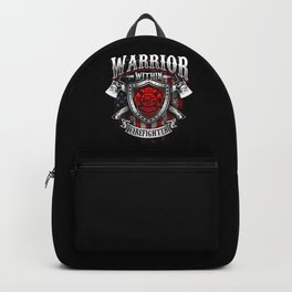 Warrior Within Firefighter - Fire Department Axe Backpack