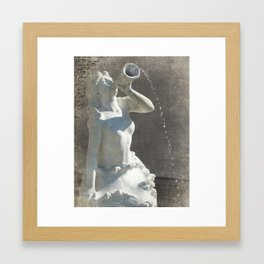 Kansas City Mermaid Framed Art Print