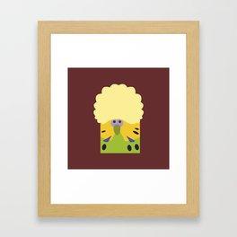 English Budgerigar 2 Framed Art Print