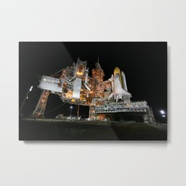 740. Space Shuttle Discovery Metal Print