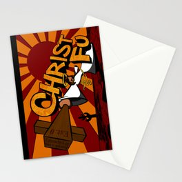 Christ Fu - Love Thy Unconscious Enemy Stationery Cards