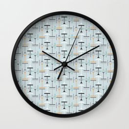 T for Two (colourway 2) Wall Clock